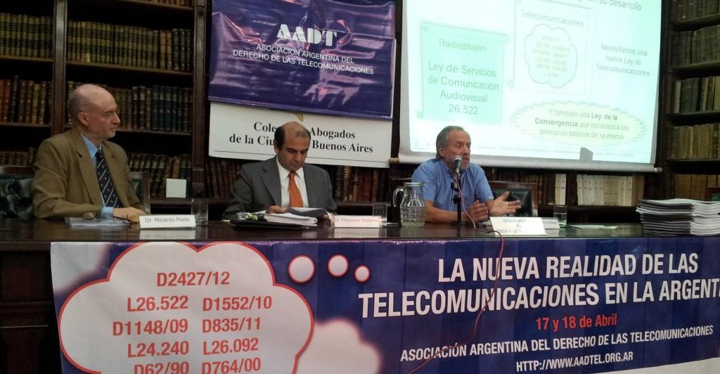 Participación del CePETel en jornada Realidad de las Telecomunicaciones