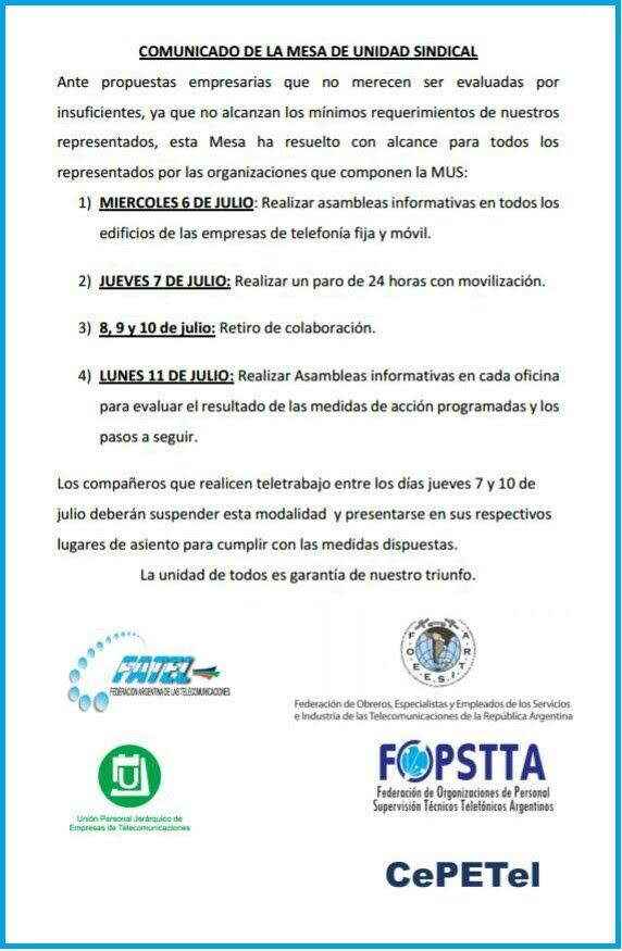 29062016 Comunicado MUS