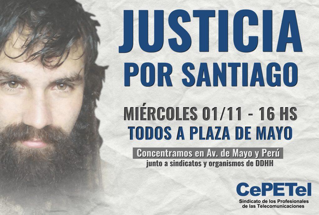 Flyer - Justicia por Santiago