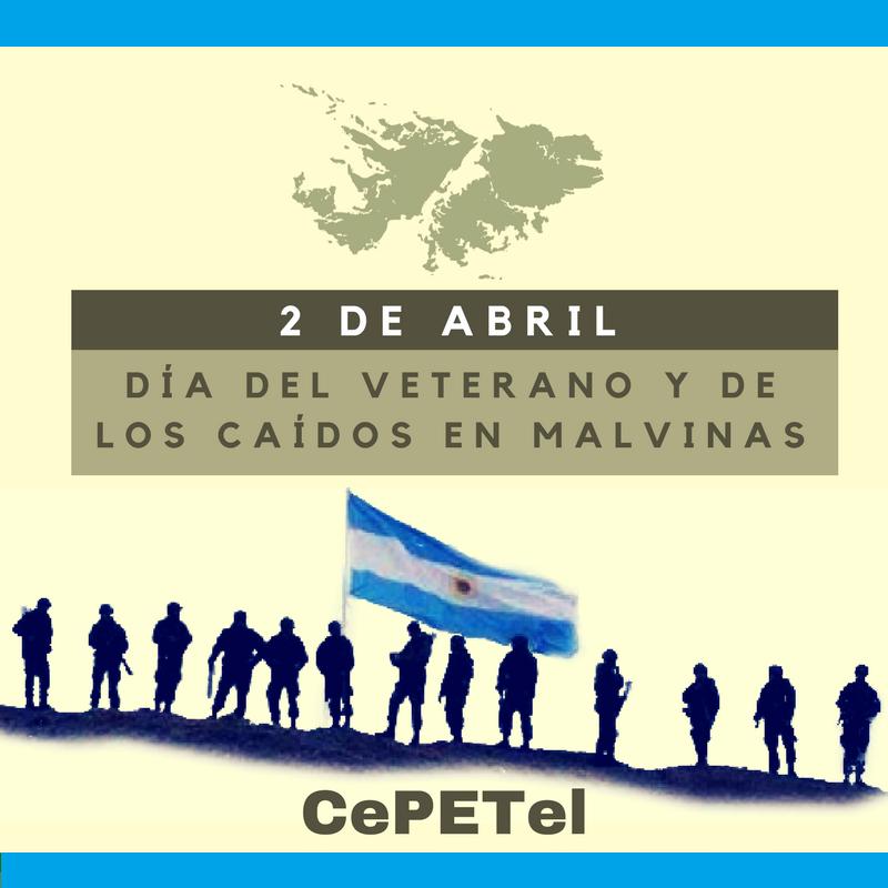 2 de abril 2019 - Día del veterano y de los caídos en Malvinas