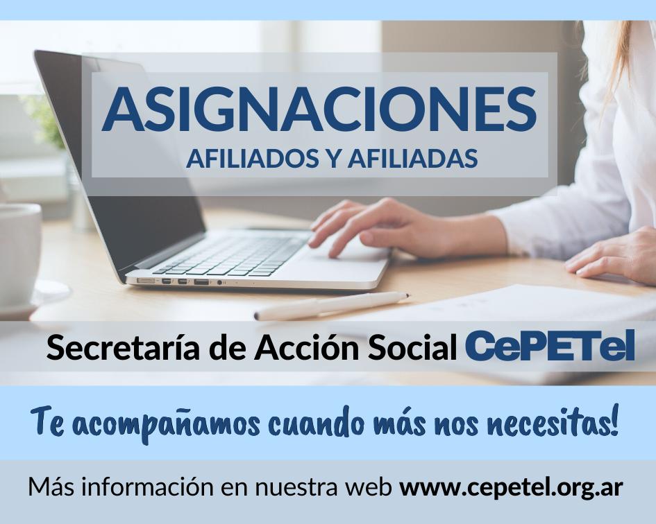 Asignaciones de Acción Social
