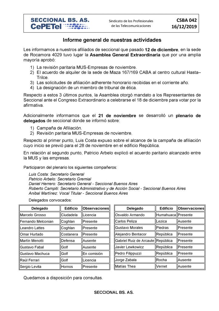 CSBA042-Informe-gral-de-nuestras-actividades-16-12-19