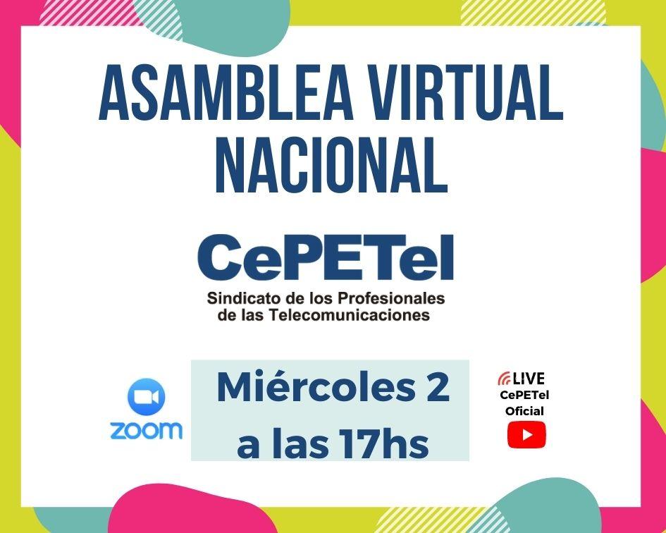 ASAMBLEA VIRTUAL NACIONAL 2-12-2020