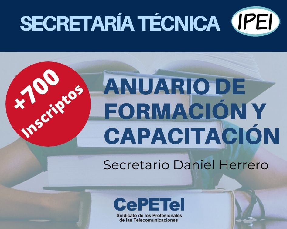 Secretaría Técnica – Anuario Formación y Capacitación 2020