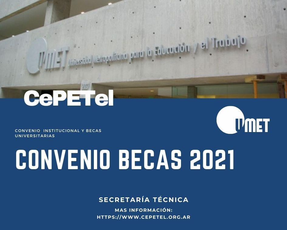 CONVENIO ENTRE LA UNIVERSIDAD METROPOLITANA PARA LA EDUCACIÓN Y EL TRABAJO y EL SINDICATO DE LOS TRABAJADORES PROFESIONALES DE LAS TELECOMUNICACIONES