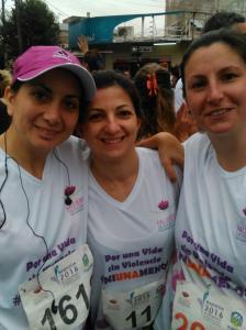 6-Maratón vida sin violencia Ni Una Menos de Gisela Toto