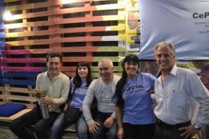 Miembros de la Seccional Buenos Aires CePETel
